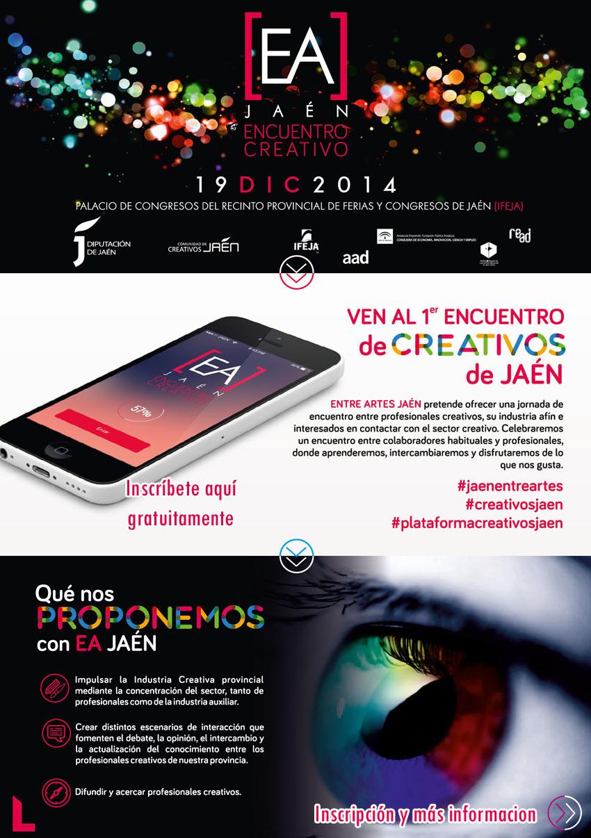 Entre Artes primer encuentro de creativos de Jaén
