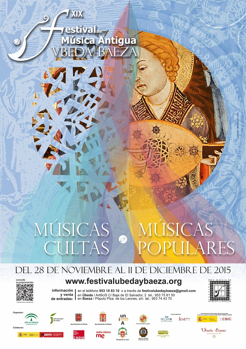 Nuevo cartel para el Festival de Música Antigua Úbeda y Baeza 2015
