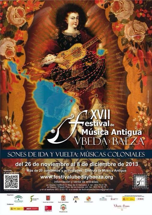 Nuevo cartel XVII Festival de Música Antigua Úbeda y Baeza