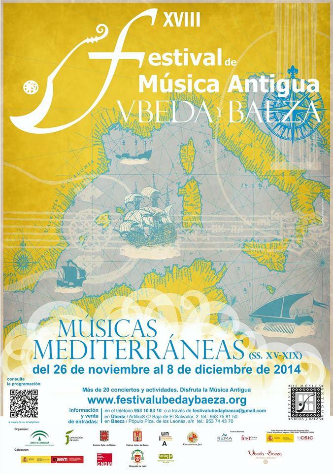 FESTIVAL DE MUSICA ANTIGUA DE ÚBEDA Y BAEZA 2014