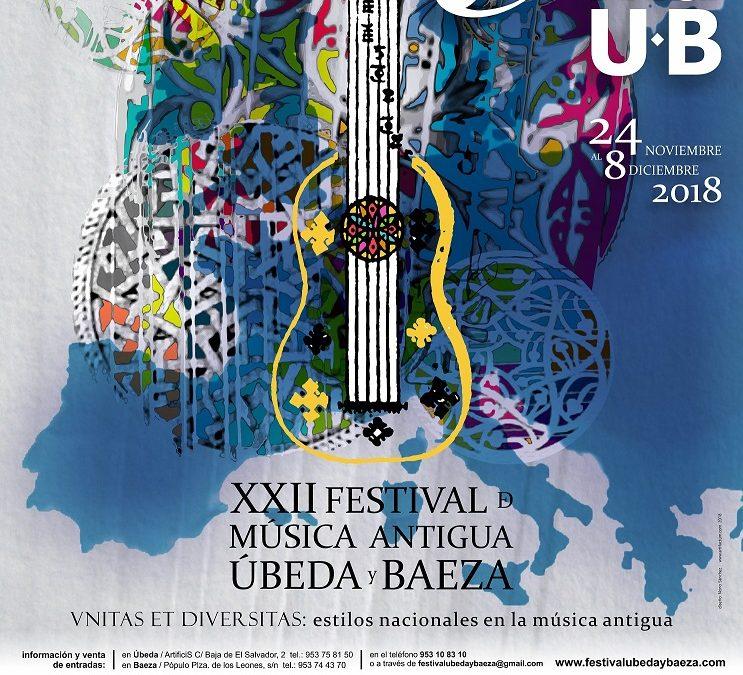 Imagen para el Festival de Música Antigua Úbeda y Baeza, 2018